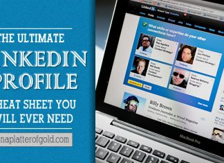 linkedin profile cheat sheet