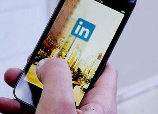 Linkedin app for mobile device
