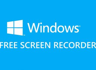 Free Windows PC screen recording software