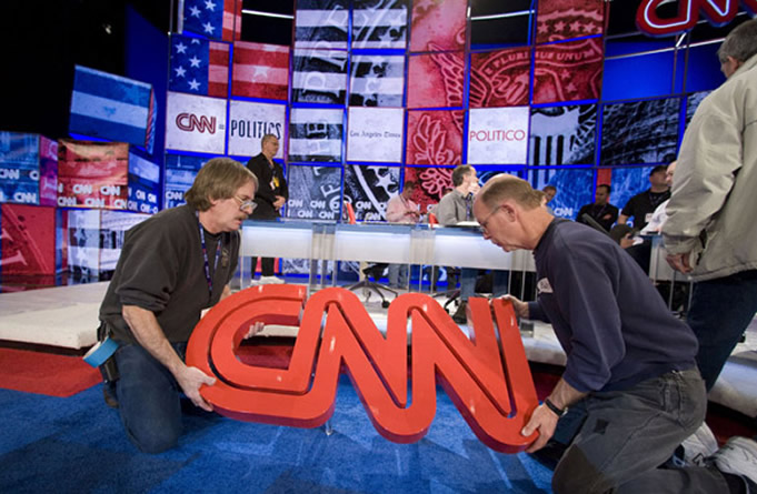 Geography Mistakes Made By CNN Trending On Social Media