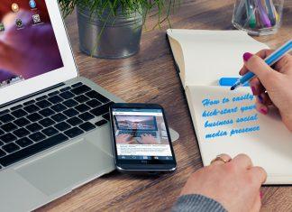 Easily kick-start your business social media presence
