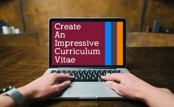 create a standout and impressive CV